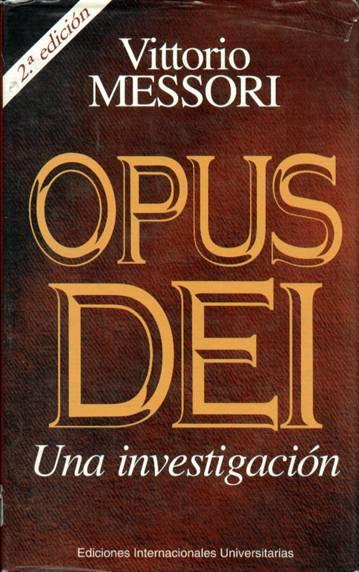 Opus Dei, una investigación