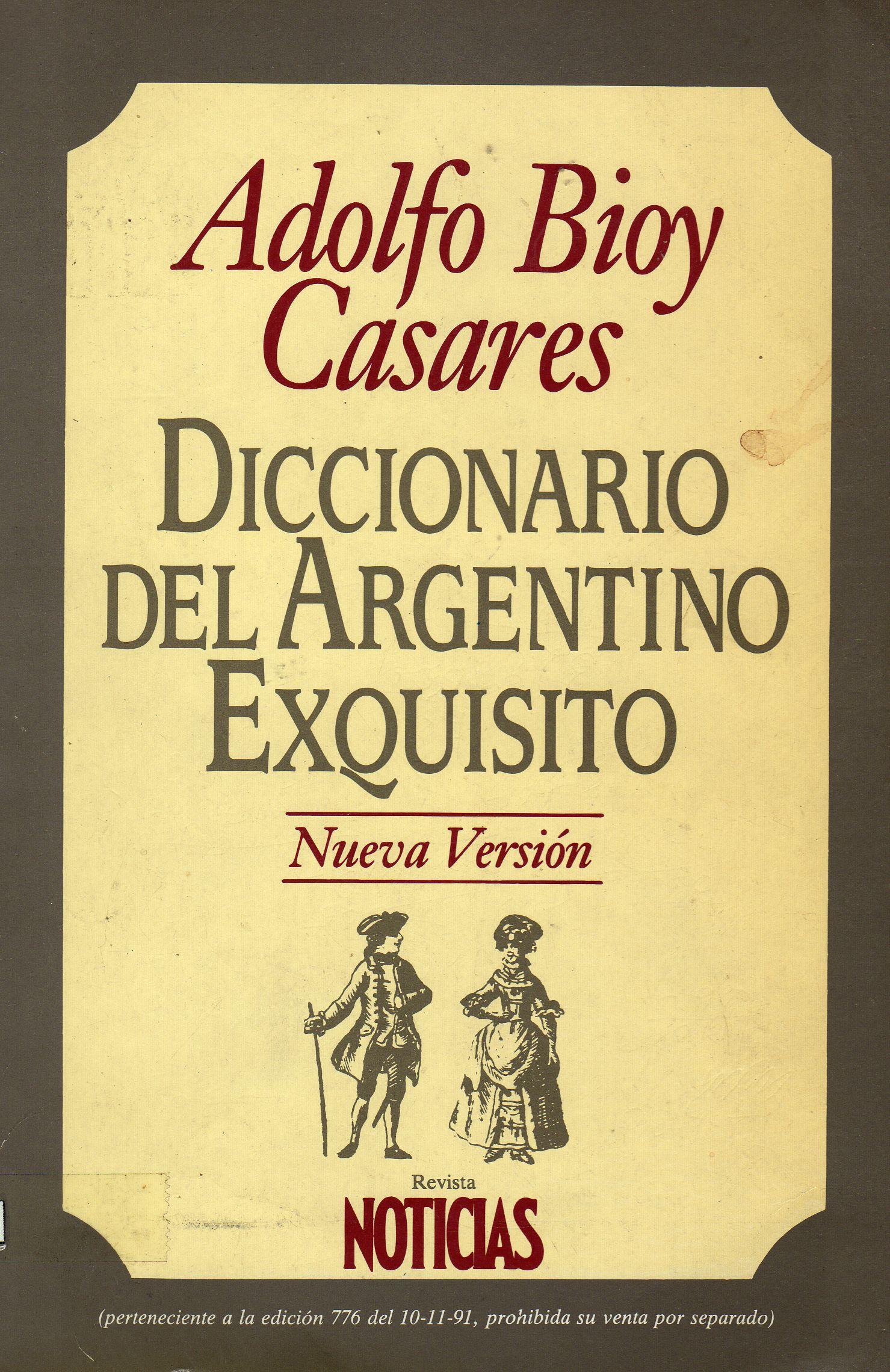 Diccionario del Argentino Exquisito