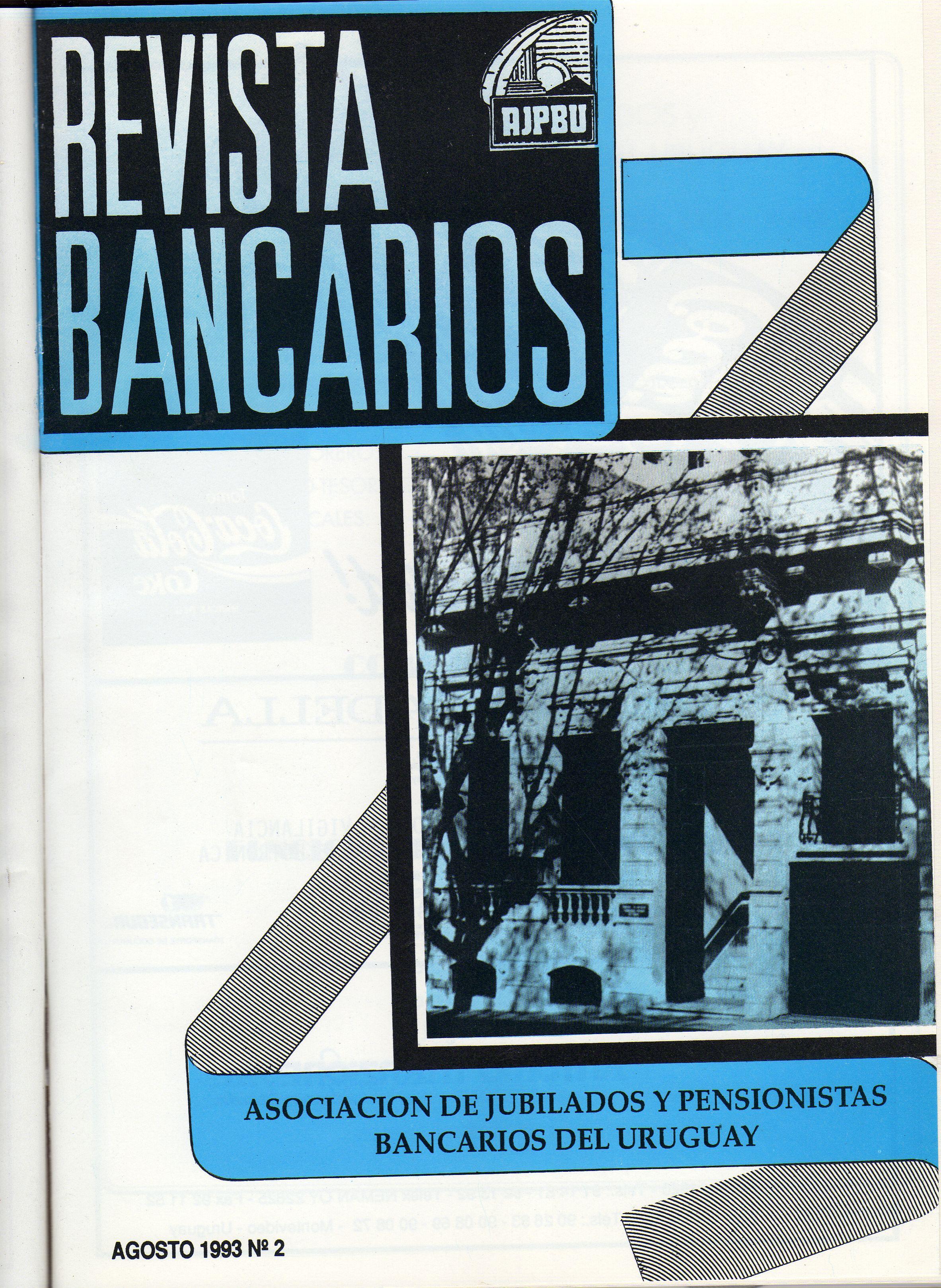 Revista Bancarios Tomo 1
